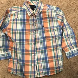 2T BOYS TOMMY HILFIGER BUTTON DOWN